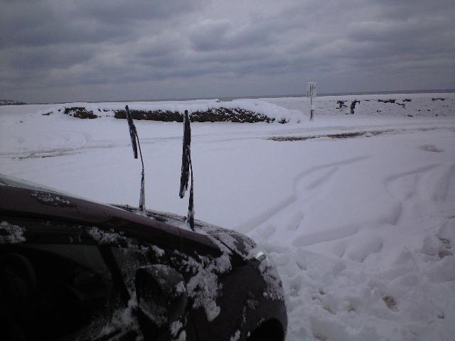 久々の雪かき