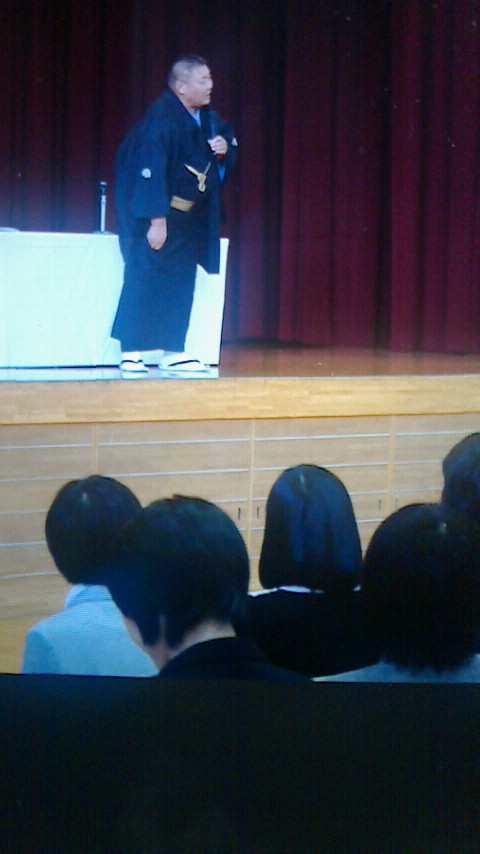 学校寄席と東京出張その1